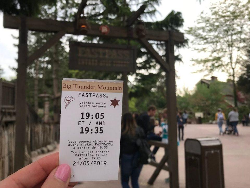 Fastpass Disneyland Paris