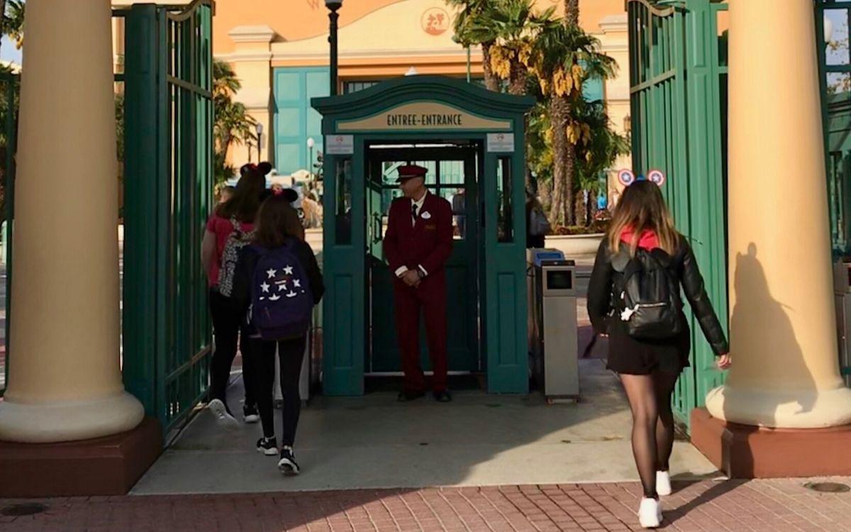 Walt Disney Studios entrata