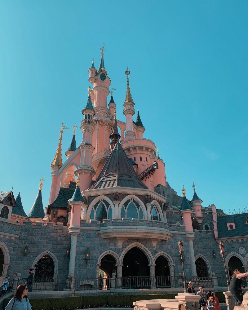 castello disneyland paris