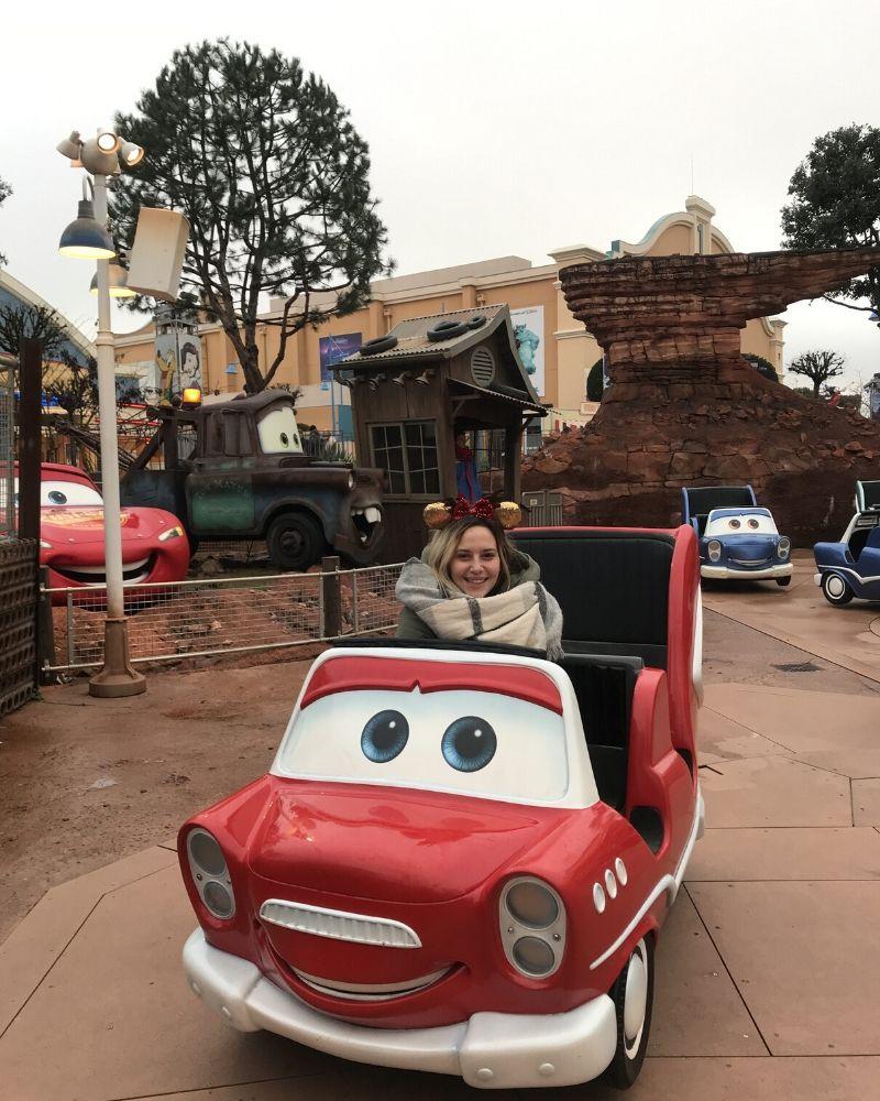 Cars Parco Walt Disney Studios