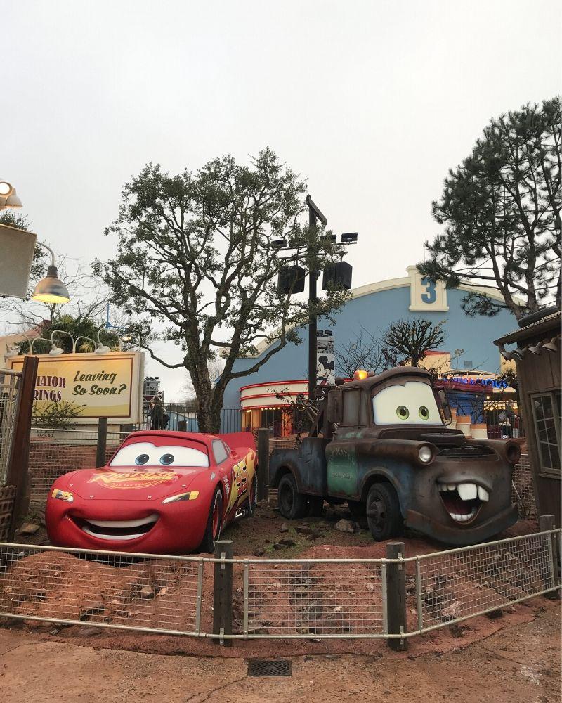 Cars Walt Disney Studios Park