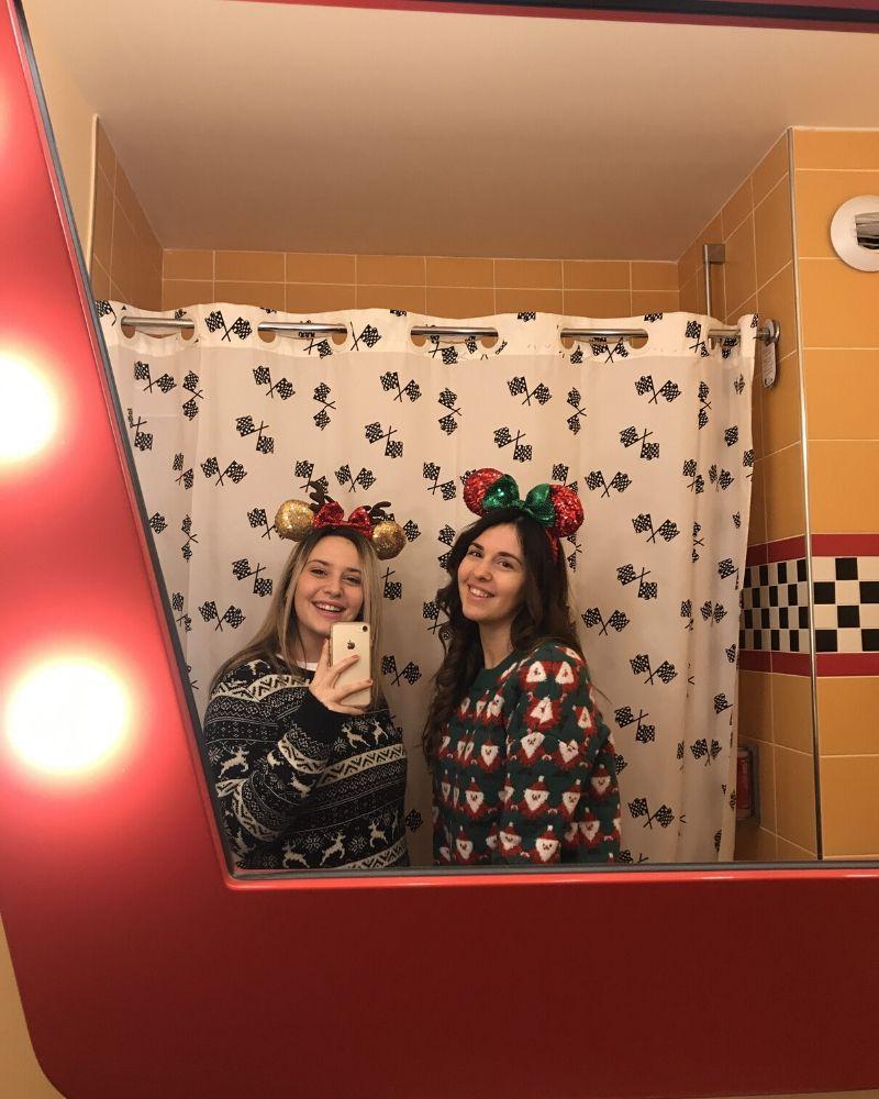 Italian Disney Sisters hotel Santa Fe