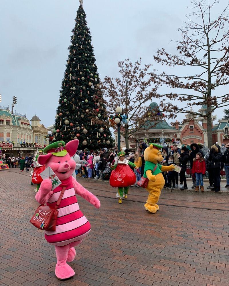 Parata Natale Disneyland Paris