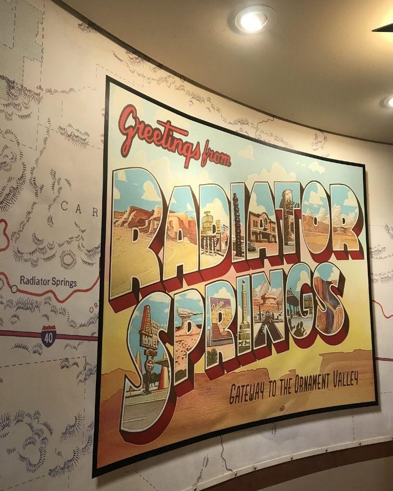 Radiator Springs Walt Disney Studios Park