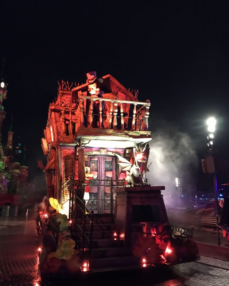 La stagione di Halloween Disneyland Paris