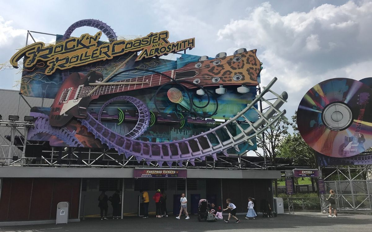Rock n Roller Coaster Walt Disney Studios Park