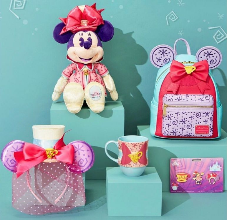 Minnie Mouse the Main Attraction Mad tea Party