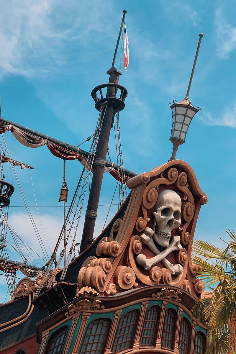 Galleon des Pirates Disneyland Paris