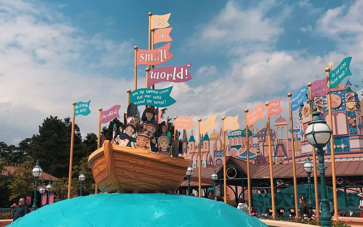 It's a small world Disneyland Paris