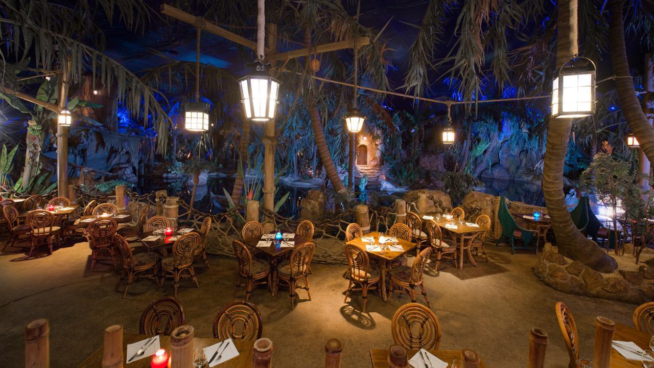 Pranzo al Captain Jack's Restaurant des Pirates