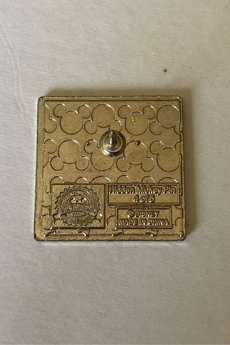Spille Hidden Mickey Pin Trading