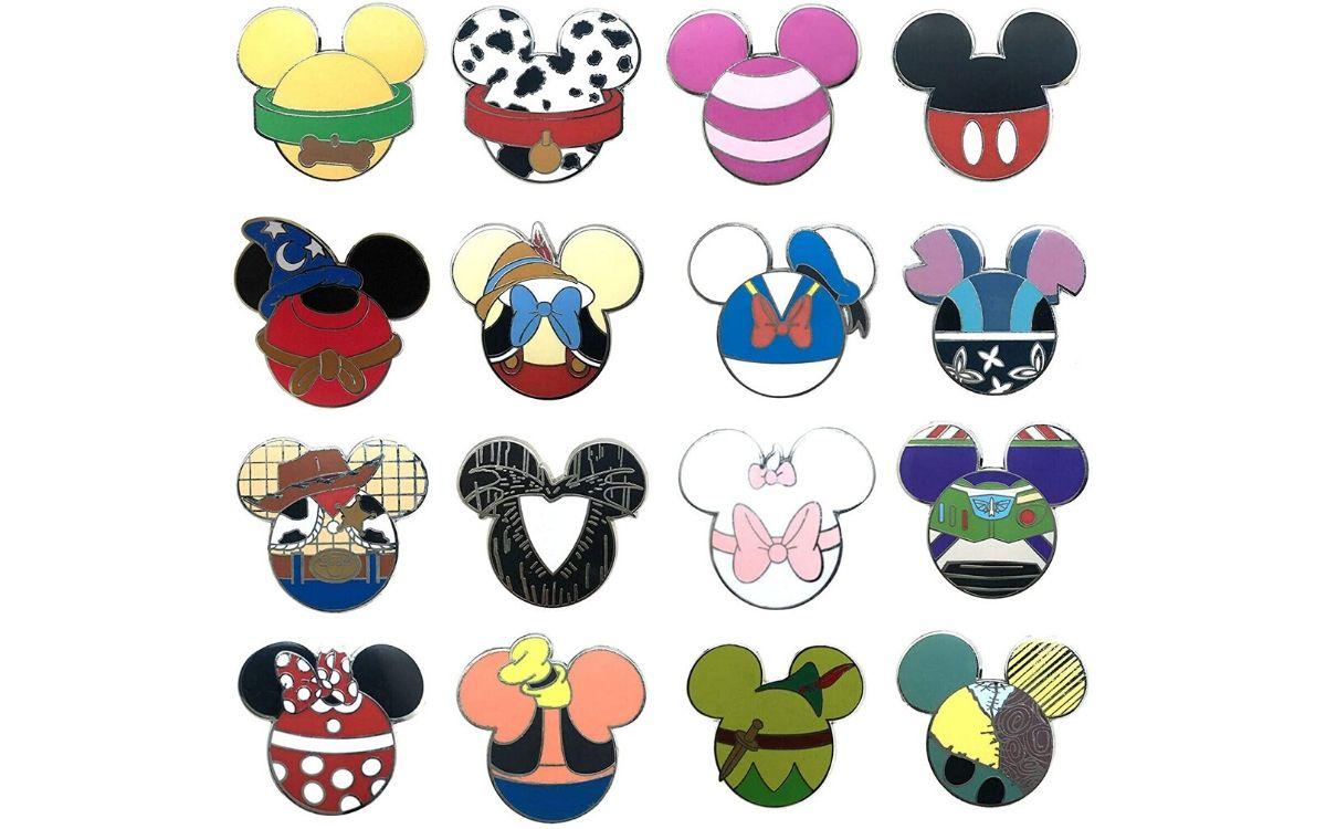 Spille forma Topolino Mickey-shaped Pin Disney