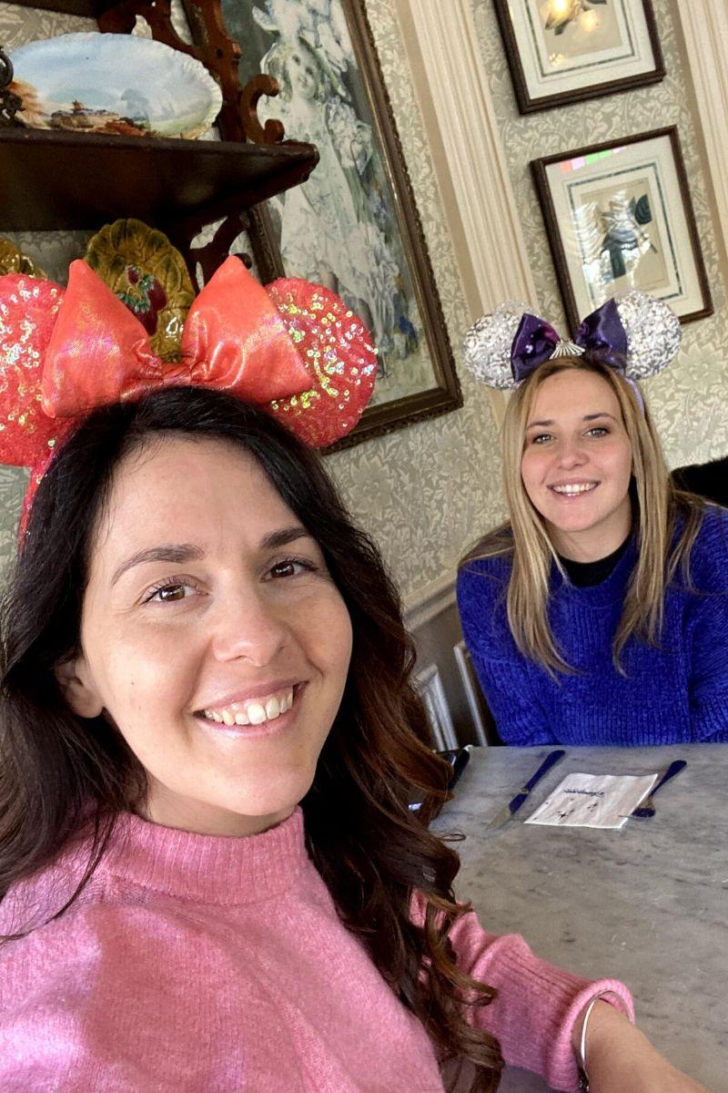 Italian Disney Sisters Mickey Waffle