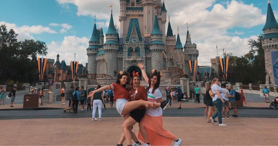 italian disney sisters magic kingdom