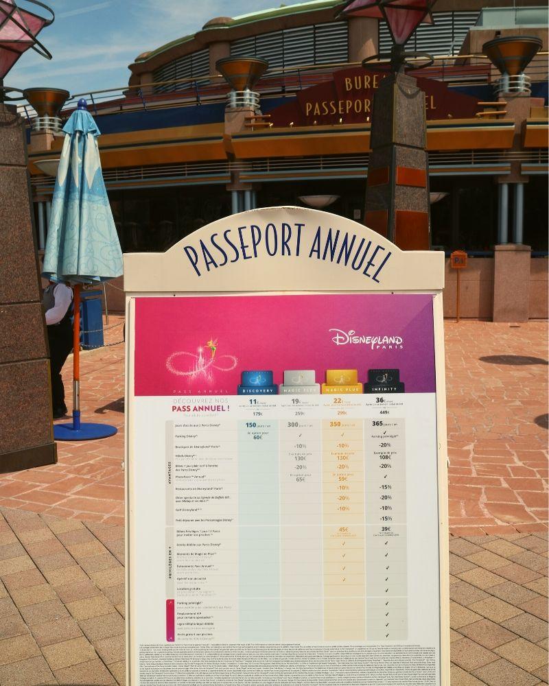 passaporto annuale disneyland paris