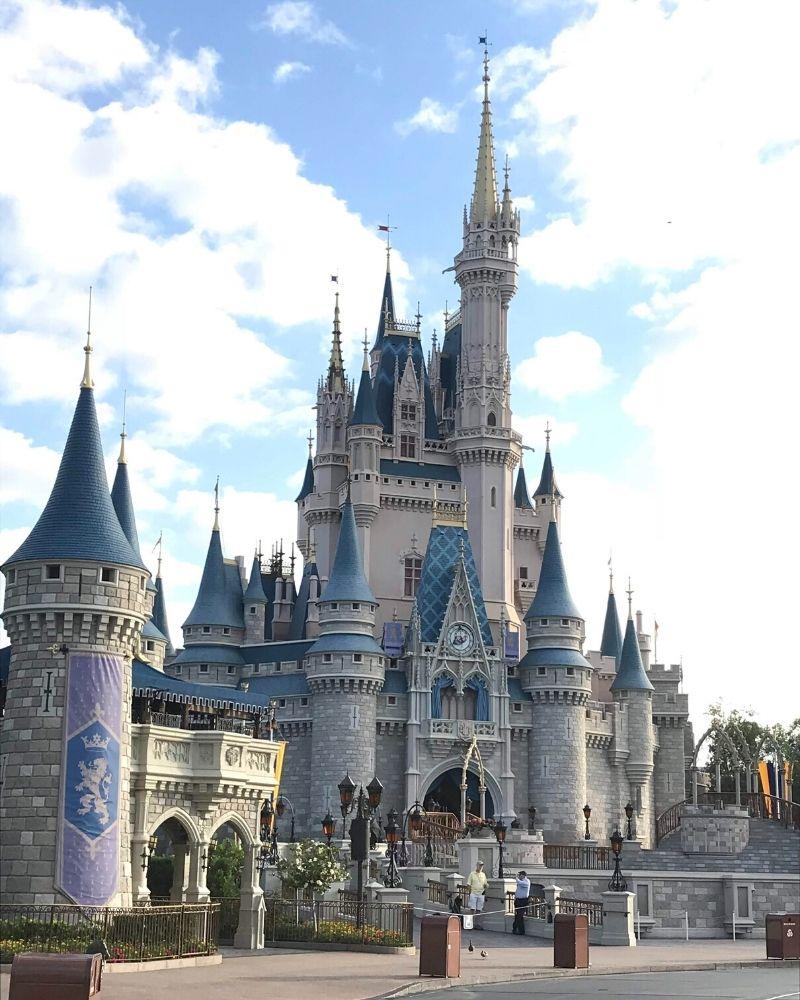 walt disney world castello