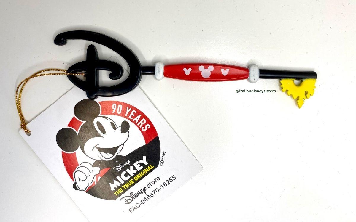 mickey chiave disney