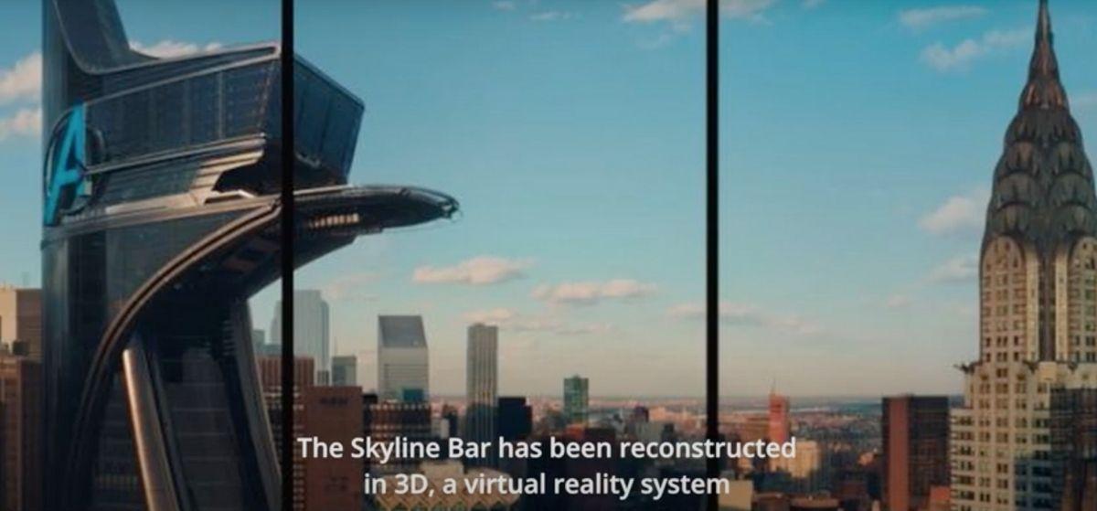 Skyline Marvel Hotel