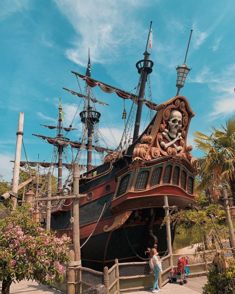 Galeone Pirati Disneyland