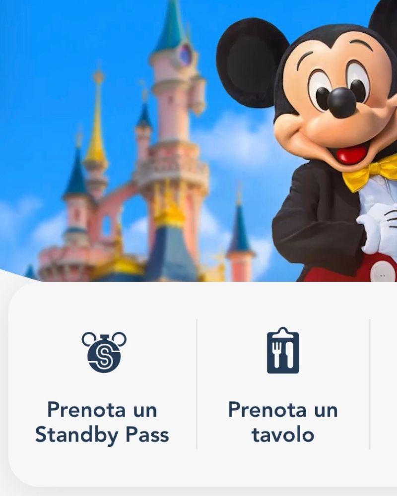 Standby Pass Disneyland Paris