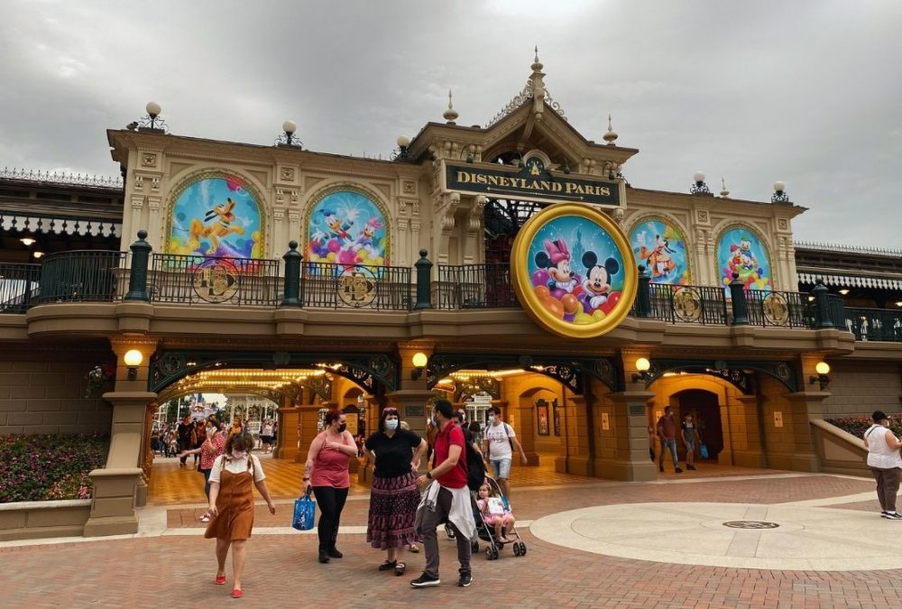 Tampone a Disneyland Paris
