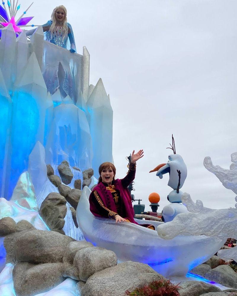 Carro Frozen Disneyland Paris