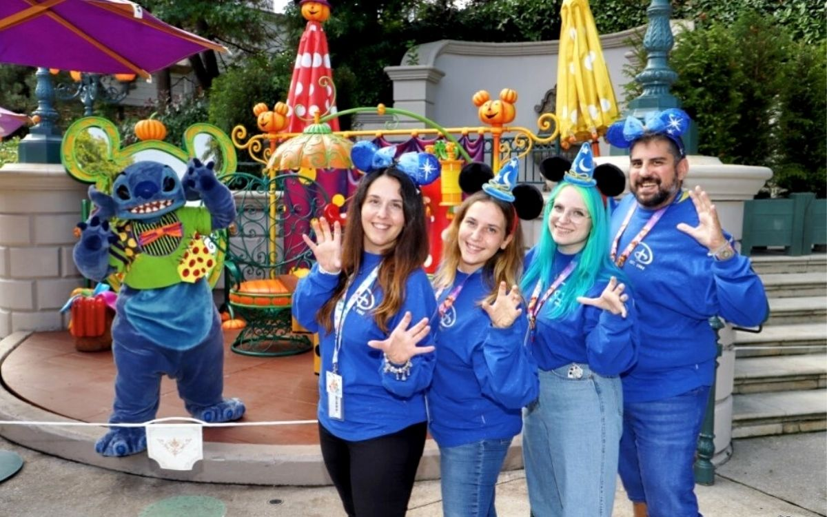 Stitch Halloween a Disneyland Paris