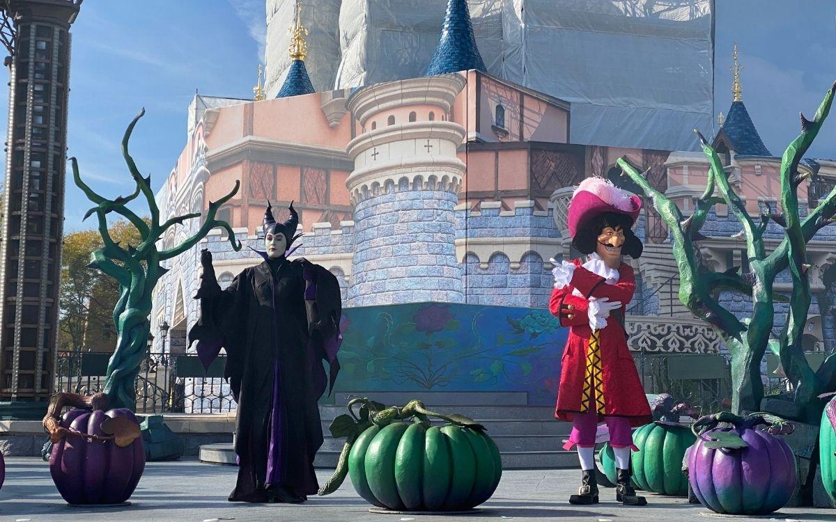Personaggi Halloween a Disneyland Paris